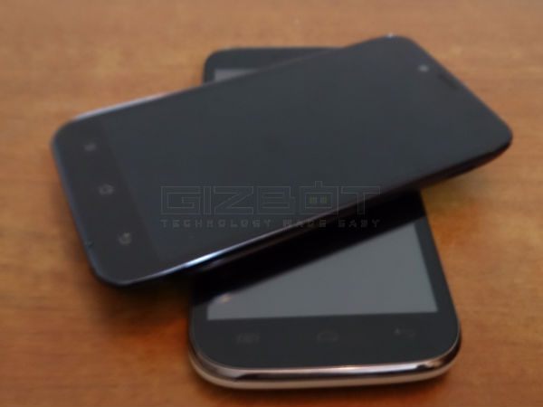 Micromax A116 Canvas HD vs Karbonn Titanium S5 Photos