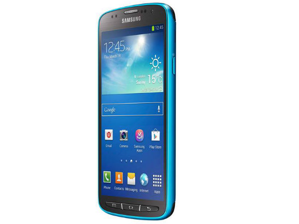 Samsung GALAXY S4 Active Photos