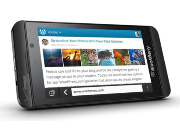 BlackBerry Z10 Photos