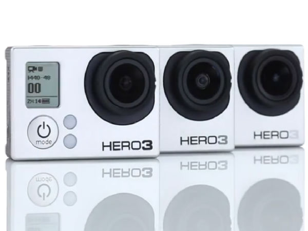 Go pro HERO3 Photos