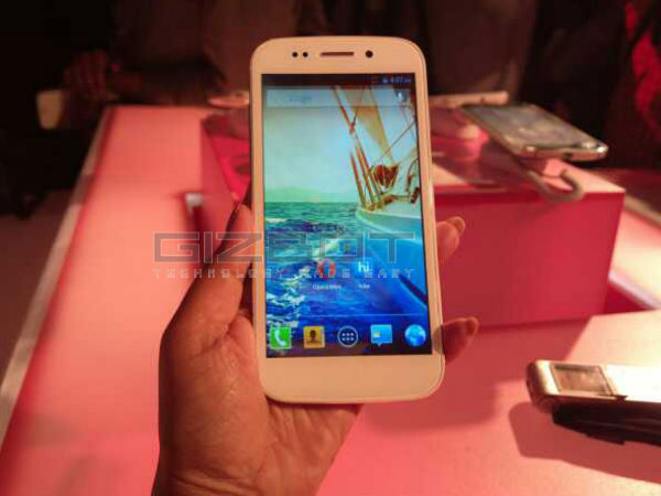 Micromax Canvas 4 Launch Event Photos