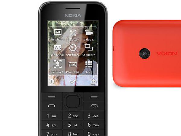 Nokia 207 Photos