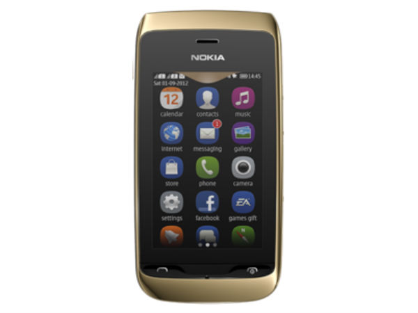 Nokia Asha 308 Photos