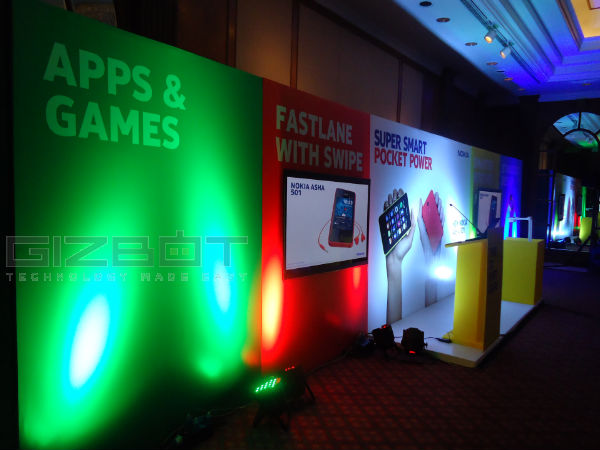 Nokia Asha 501 Event Photos