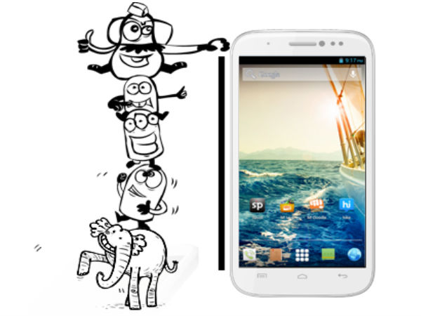 Micromax Canvas Doodle 2 A240 Photos