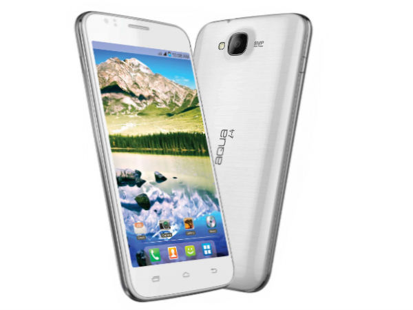 Intex Aqua i-4 Photos