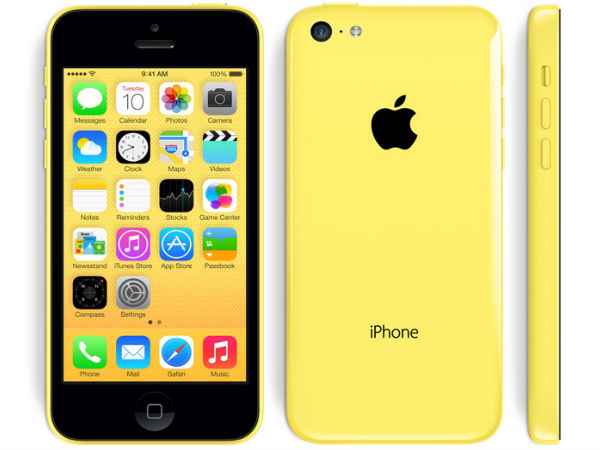 Apple iPhone 5C Photos