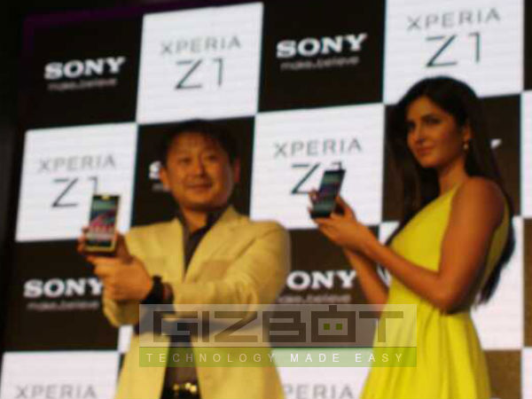 Katrina Kaif Unveils New Sony Xperia Z1 Photos