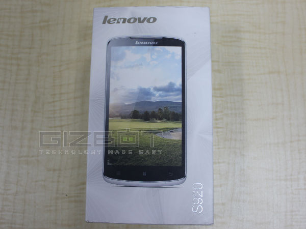 Lenovo S920 Review Photos