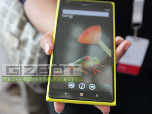 Nokia Lumia 1520 First look Photos