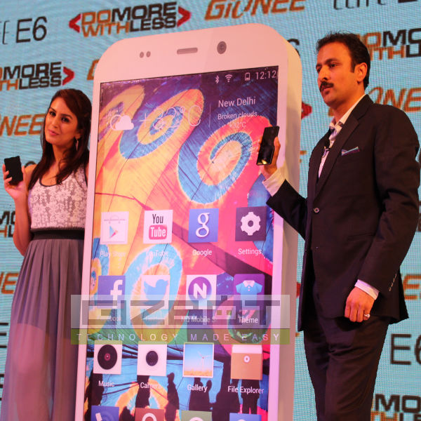 Huma Qureshi launched Gionee Elife E6 Photos