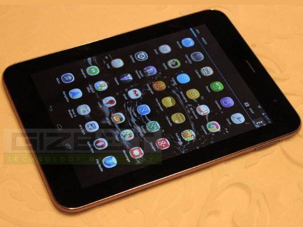 Micromax Canvas Tab P650 First Look Photos
