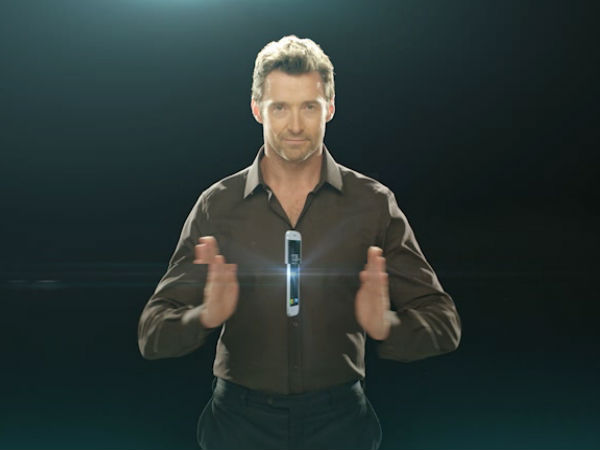Micromax Canvas Turbo with Hugh Jackman Photos