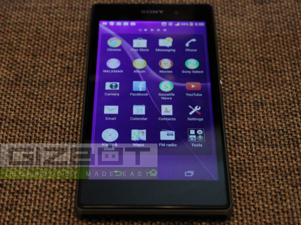 Sony Xperia Z1 Hands on Review Photos