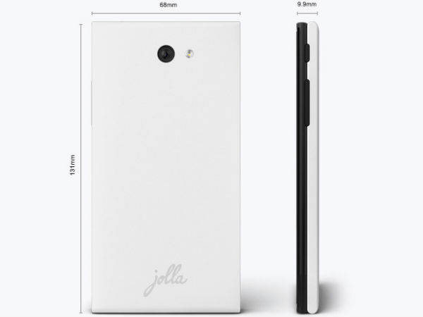 Jolla First Sailfish OS Smartphone Photos