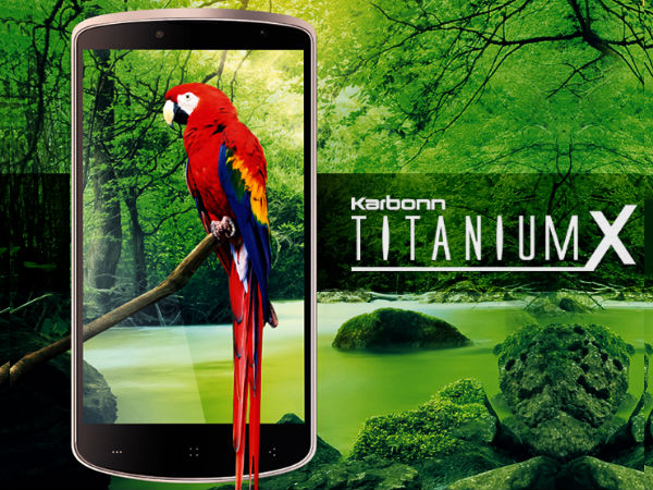 Karbonn Titanium X Photos