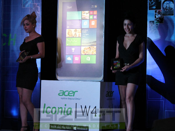 Acer Iconia W4 Launch Event Photos