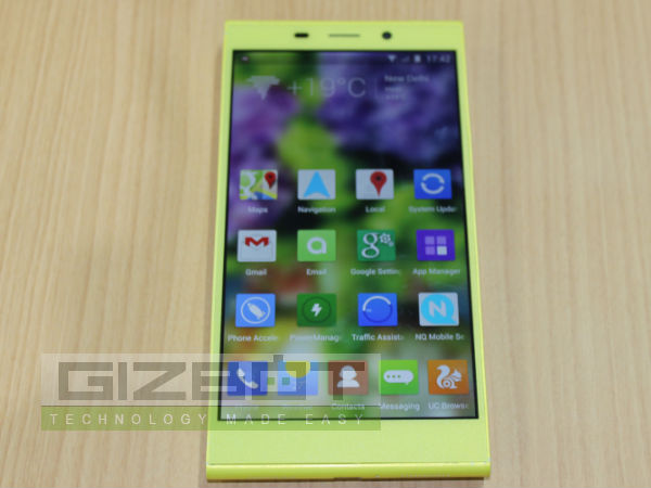 Gionee Elife E7 Hands On First Look Photos