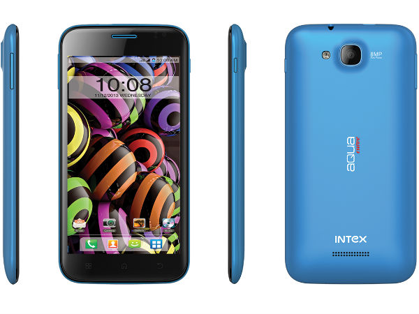 Intex Aqua Curve Photos