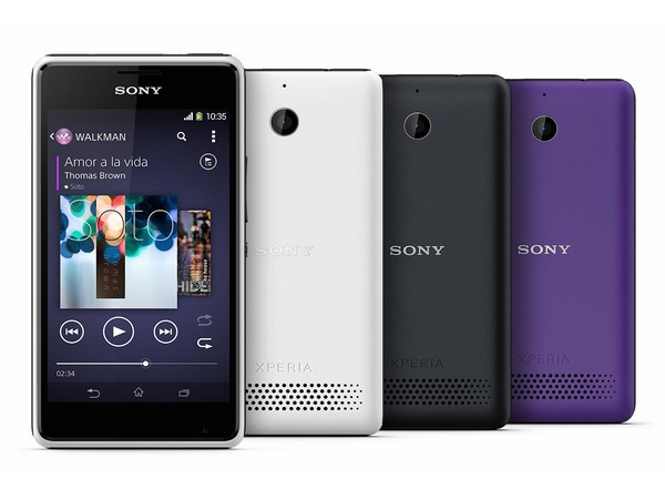 Sony Xperia E1 Photos