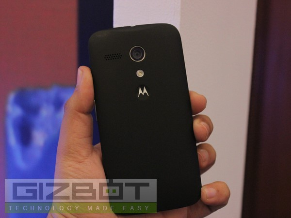 Motorola Moto G: First Look  Photos