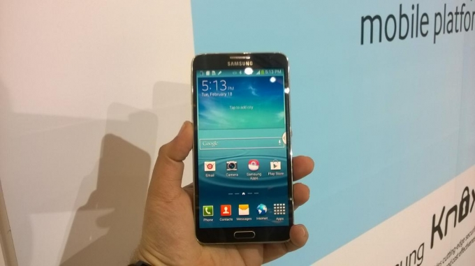 Samsung Galaxy Note 3 Neo Launch Event Photos