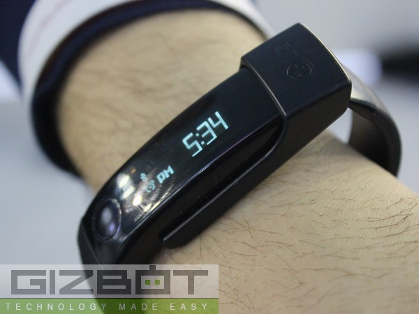 LG Lifeband Touch Hands on and First Look Photos