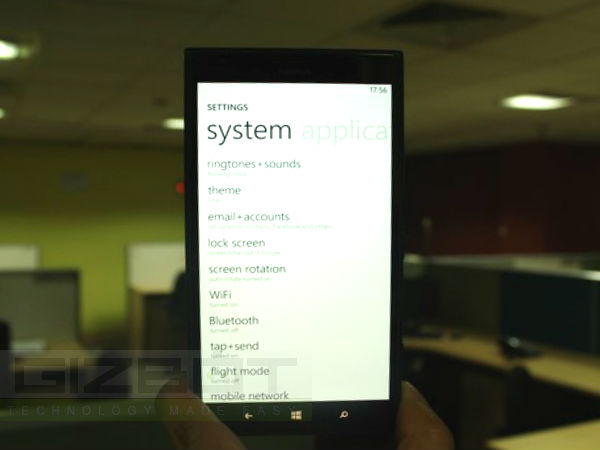 Nokia Lumia 1520 Hands on Review Photos