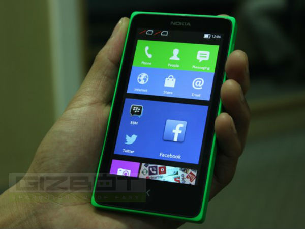 Nokia X Dual Hands on First Look Photos