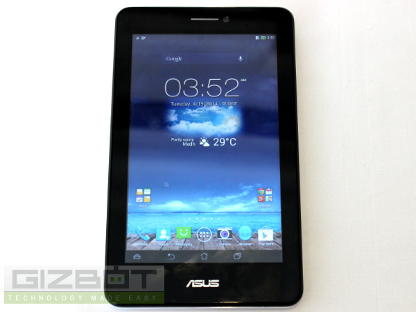 Asus Fonepad 7 Dual SIM Hands on Review Photos