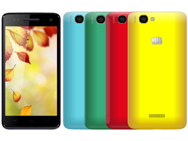 Micromax Canvas 2 Colours A120 Photos
