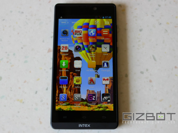 Intex Aqua i5HD Hands on and First Look Photos