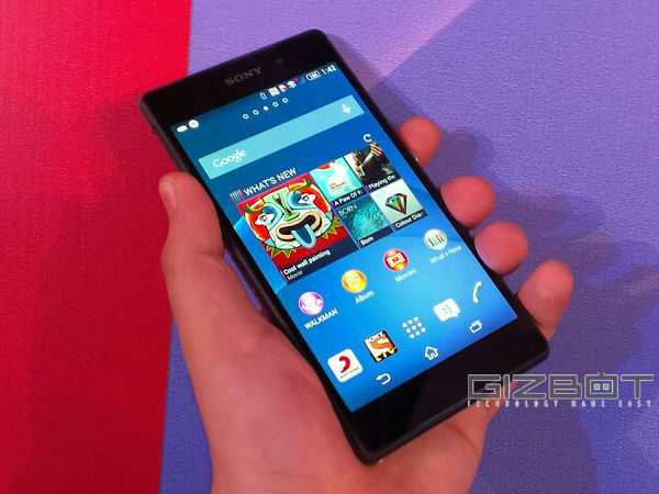Sony Xperia Z2 Hands On First Look Photos