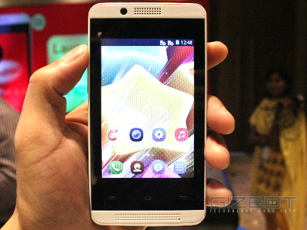 Celkon Campus A35K Hands On First Look Photos