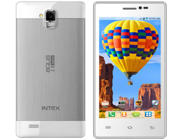 Intex Aqua i5 Mini Photos