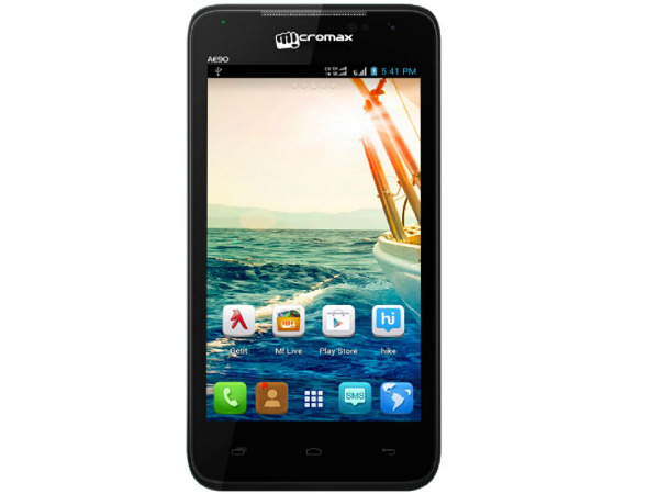 Micromax Canvas Duet AE90 Photos