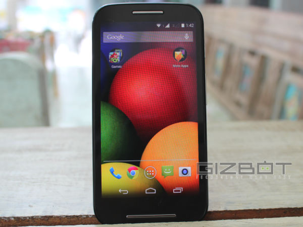 Motorola Moto E: Hands on Review Photos