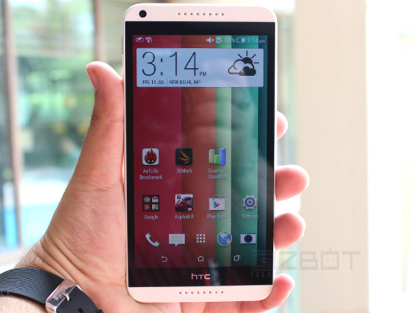 HTC Desire 816 Hands On Review Photos