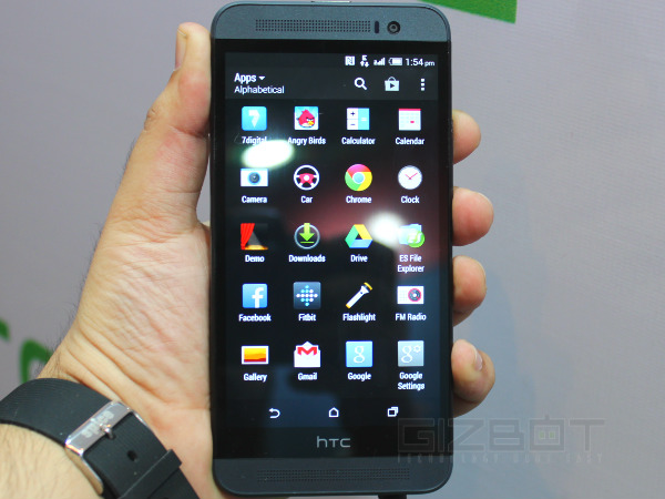 HTC One E8 Hands on First Look Photos