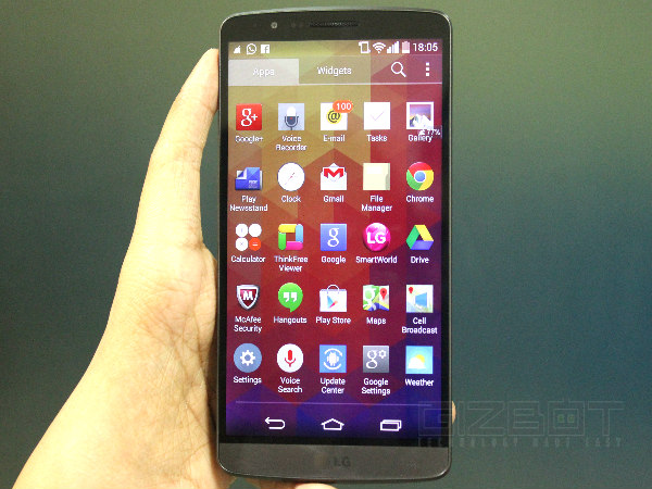 LG G3 Hands-On and First Look Photos