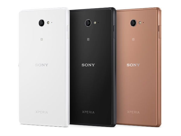 Sony Xperia M2 Aqua Photos