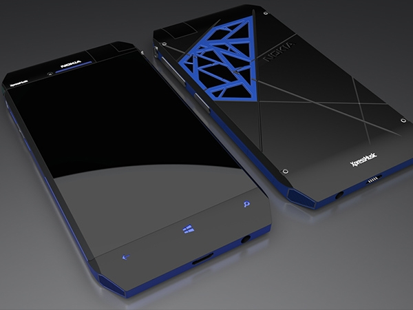 Nokia ExpressMusic NX Concept Design Photos