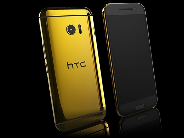 Gold HTC One M10 Photos