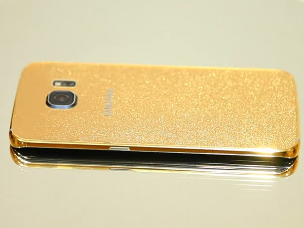 Samsung Galaxy S6 Edge Gold Photos