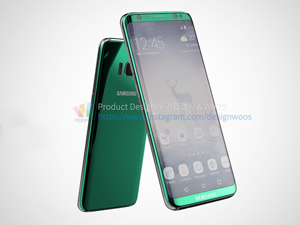 Samsung Galaxy S8 Plus Leaked Image Photos