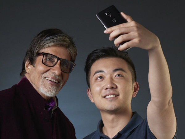 Amitabh Bachchan as the first-ever OnePlus Star Photos