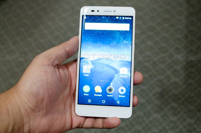 Lava Z25 first Impressions Photos