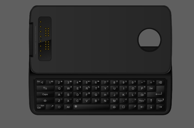 Physical Keyboard Mod For Moto Z Photos
