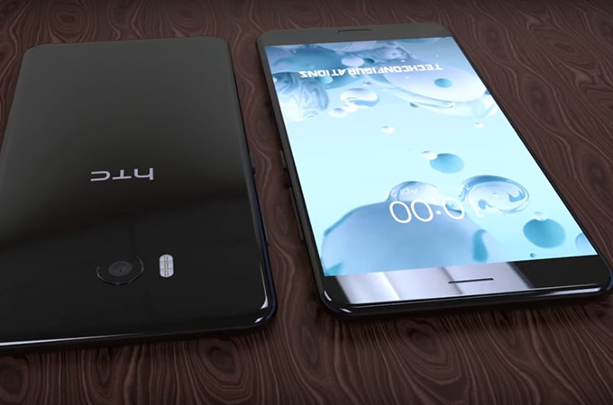 HTC U 11 Concept Design Photos