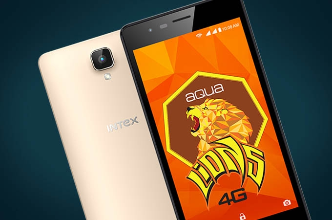 Intex Aqua Lions 4G Photos